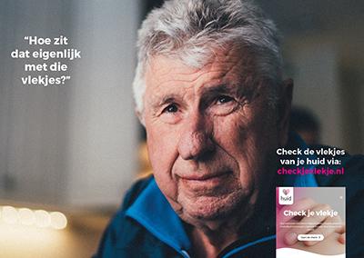 Met checkjevlekje.nl wil Huidfonds mensen bewust maken van veranderingen van de huid