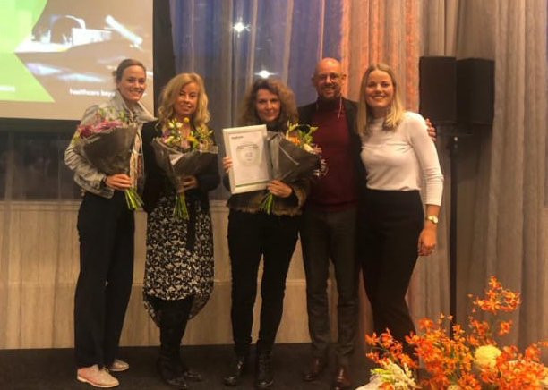 Qualiview Award 2019 Huidtherapie
